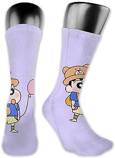 Calcetines de compresión Cute Crayon Shin-chan Calcetines de fútbol Calcetines altos Calcetines largos Deportes al aire libre para hombres Mujeres