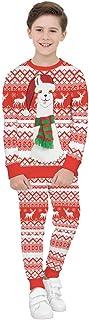 COCO1YA(ココイチヤ) クリスマス 衣装 子供 男の子 スウェット トレーナー トナカイ柄 レッド クリスマス用 秋 冬 セットアップ カジュアル キッズ 110-150cm