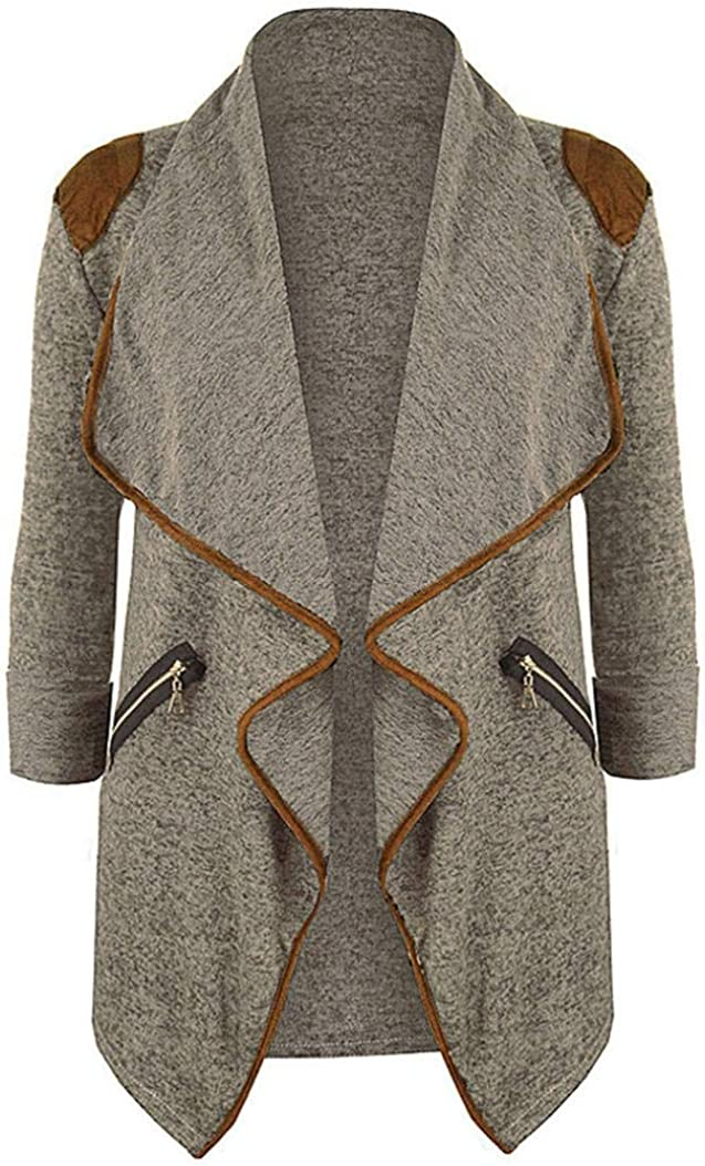 LISTHA Plus Size Knitted Cardigan Women Long Sleeve Jacket Outwear Casual Tops