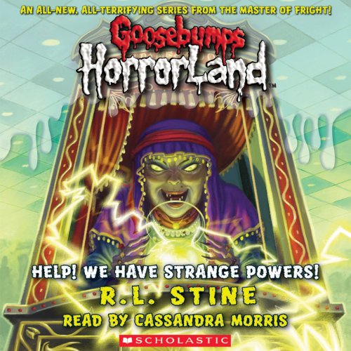 Goosebumps Horrorland, Book 10 audiobook cover art