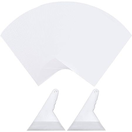 Lot de 100 feuilles de papier pour peinture diamant - Anti-adhésif - Réutilisable - Pour accessoires de broderie diamant