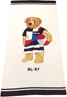 Polo Bear Beach Towel 35X66
