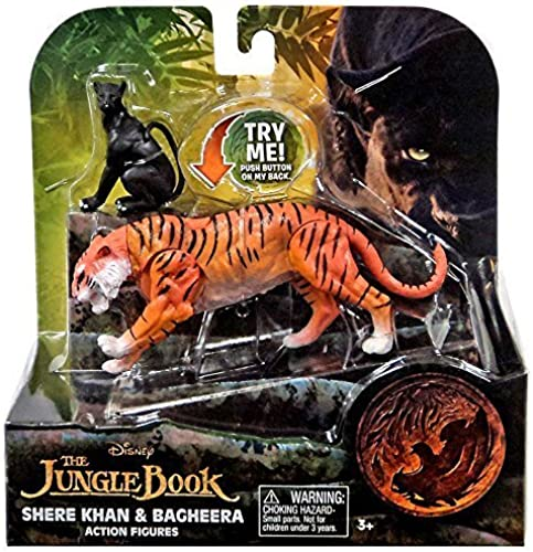 Centro comercial profesional integrado en línea. Disney Jungle Jungle Jungle Book Shere Khan and Bagheera Action Figures (2 Pack) by Disney  punto de venta de la marca