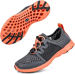 ALEADER Kids Aqua Water Shoes | Walk, Run, Beach, Water, Camp
