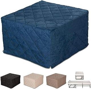 EvergreenWeb – Puf Cuadrado colchón Plegable Cama