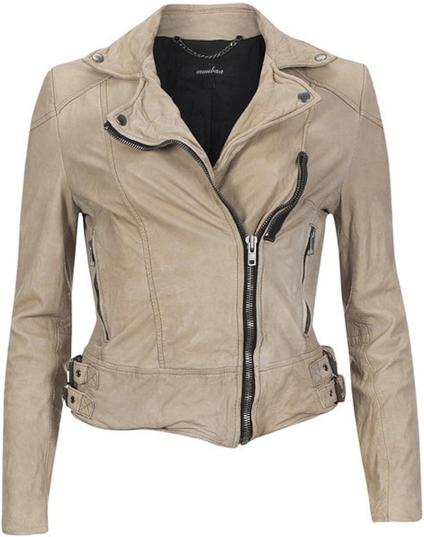 Fadcloset Cynthia Womens Leather Jacket