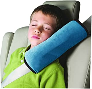 Car seat belt Cushions Pillow Neck Support for Child Car Baby Children Safety Strap Car Seat Belts Pillow Shoulder Protection Pillow  blue