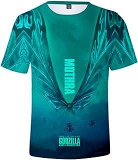 GodGoery Godzilla King of The Monsters Shirt Fashion 3D Printed T Shirt for Men Women