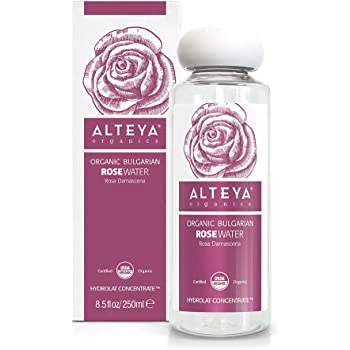 Alteya Organics USDA Organic Rose Water 8.5 Fl Oz