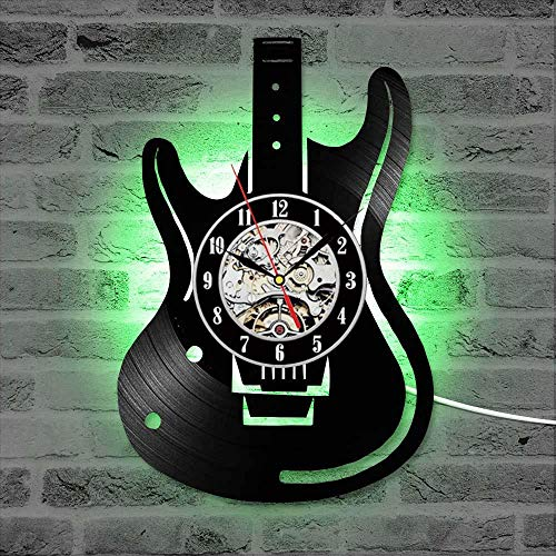 Reloj de pared grande salonReloj de pared LED de disco de vi