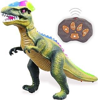Remote Control Dinosaur for Kids with Light Up Eyes and Roaring Sound, Walking Dinosaur Robot Dinosaur, Big RC Dinosaur, L...