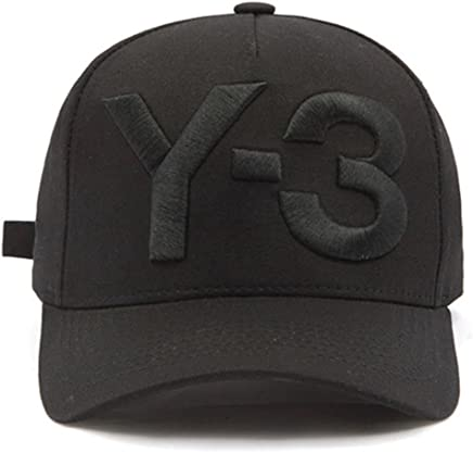 71446e6ab25 IreDi New Y-3 Dad Hat Big Bold Embroidered Logo Hip Hop Baseball Cap