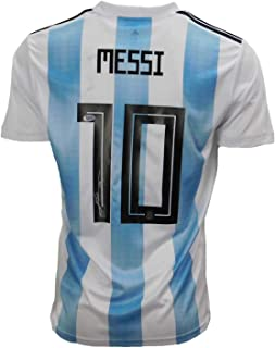 Signed Lionel Messi Jersey - AFA White Beckett) - Beckett Authentication - Autographed Soccer Jerseys