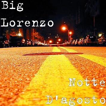 Notte D'agosto - Single