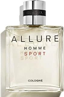 NIB ALLURE HOMME SPORT Cologne Spray, 3.4 oz./ 100 mL + Free Sample Gift!