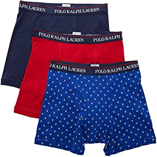 3-Pack Boxer Briefs Cruise Royal/White Anchors/Rl2000 Red/Cruise Navy LG