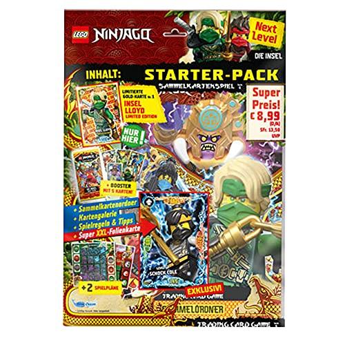 Blue Ocean Lego Ninjago 6 Next Level Trading Cards - 1 Starter
