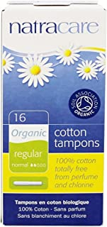 Natracare 9002 Organic All Cotton Tampons With Applicator 16 Count