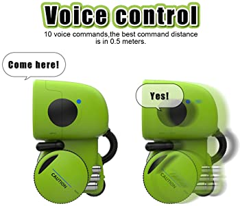GILOBABY Kids Robot Toy, Talking Interactive Voice Controlled Touch Sensor Smart Robotics with Singing, Dancing, Repe...