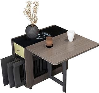 CHICAI Dining Table and Chairs Set 1.5 متر 4 كرسي الطي طاولة الطعام مجموعة إسقاط ورقة الصلبة أثاث المطبخ خشبي الصلبة الخشب...