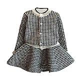 manadlian Bébé 2pcs Vêtements Ensemble Filles Cute Cartoon Outfits bébé Filles Imprimé Top T-Shirt + Jupe Tutu Vêtements Robes de Soirée 2019