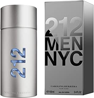 212 by Carolina Herrera for Men Eau de Toilette 100ml
