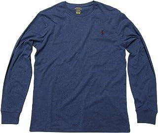 ee1e8cb5a32a Polo Ralph Lauren Mens Long Sleeve Crew Neck Custom Slim Fit T-Shirt