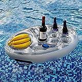 Aufblasbarer Getränkehalter - Schwimmender Bierhalter Aus PVC   Getränke Dosenhalter Flaschenhalter Getränkehalter Pool Untersetzer   Schwimmende Coasters Für Pool Party Wasser-Spaß Strand Spielzeug
