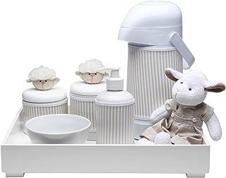 Kit Higiene Toys Carneirinho, Potinho de Mel, Bege
