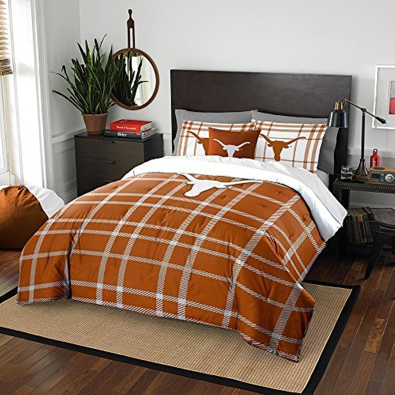 The Northwest Company University of Texas Longhorns Comforter and Sham Bed Set