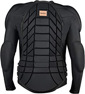 BenKen Skiing Anti-Collision Sports Shirts Ultra Light Protective Gear Outdoor Sports Anti-Collision Clothing Armor Spine Back Protector