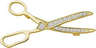 CENWA Hairdresser Gift Dressmaker Gift Scissor Brooch Pin Gift for Hairdresser Dressmaker
