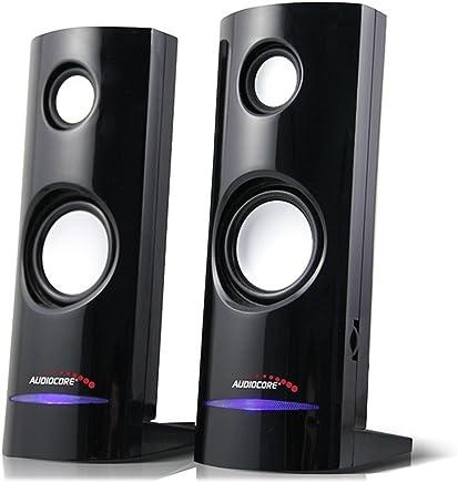 Audiocore ac860, altoparlante stereo 2.0PC, 8Watt, RMS, Nero - Trova i prezzi più bassi