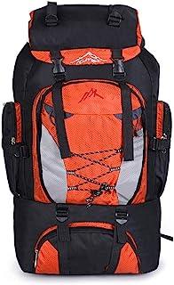 Mochila de viaje Mochila de alta capacidad impermeable para el alpinismo 80L Mochila ideal para deportes al aire libre, excursionismo, senderismo, viajes de campamento, escalada de montaña Camping, se