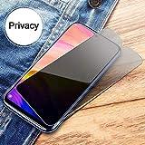 STCMW [3 Piezas] Cristal del teléfono 9H Protección de Pantalla de privacidad mágica antiespía para Meizu Note 8 9 Cristal Templado para Meizu 16 16 S 16X Pro 5 6 7-Meizu Pro 6
