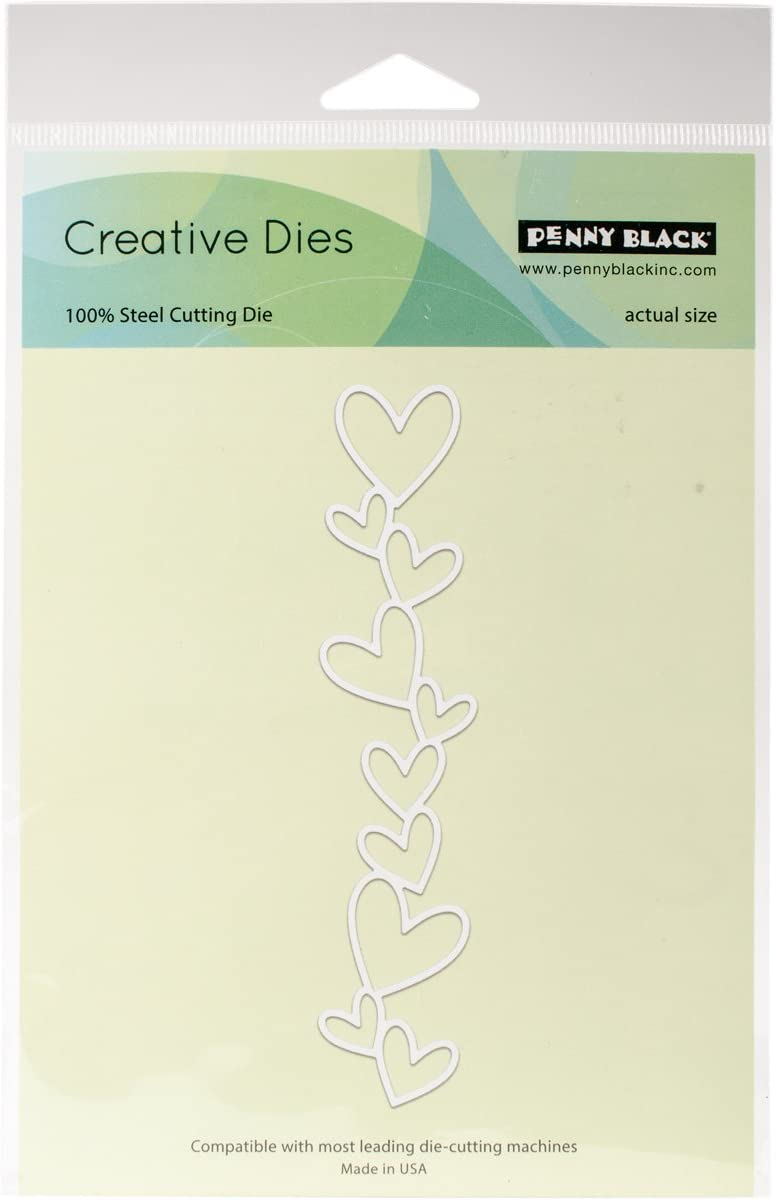 overseas Penny Black Creative Dies 0.3 21.59 x 13.97 cm New arrival Multi-Colour