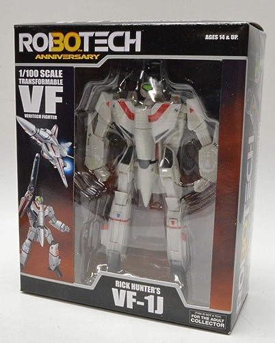 seguro de calidad Robotech 30th Anniversary Rick Hunter VF-1J Transformable Veritech Fighter Figura Figura Figura De Acción  envío gratuito a nivel mundial