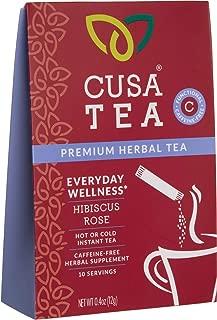 Cusa Tea: Premium Herbal Tea - Make Hot or Iced in Seconds - Functional Tea - Clean Ingredients - Sugar Free - No Preservatives - No Artificial Flavors