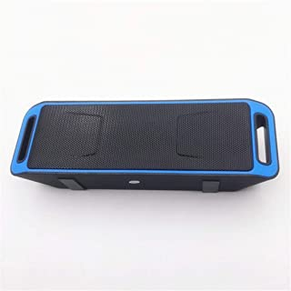 Wireless Bluetooth Speaker, Mobile Computer General Voice Dual Speaker Collection Broadcast Sound,Blue