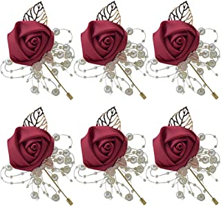 Best red rose corsage and boutonniere for prom Reviews