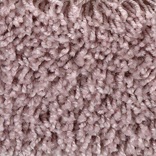 BODENMEISTER BM72231 Teppichboden Auslegware Meterware Hochflor Shaggy Langflor Velour rosa lila 400 und 500 cm breit, verschiedene Längen, Variante, 2 x 4 m
