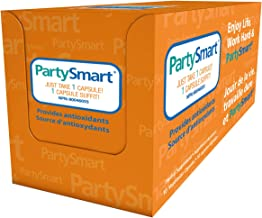 Himalaya PartySmart for Hangover Prevention, Alcohol Metabolism and a Better Morning After, 10 Capsules 250mg (3 PACK)