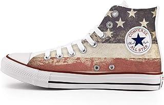 Scarpe Personalizzate Sneakers Originali (Uomo/Donna) - Scarpe Artigianali - stampaVintage USA