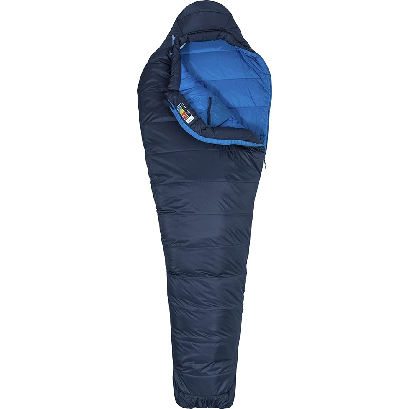 Marmot Ultra Elite 20 Sleeping Bag, Dark Steel/Lakeside, Reg 6ft 0in, 39360-1662-Reg: 6'0