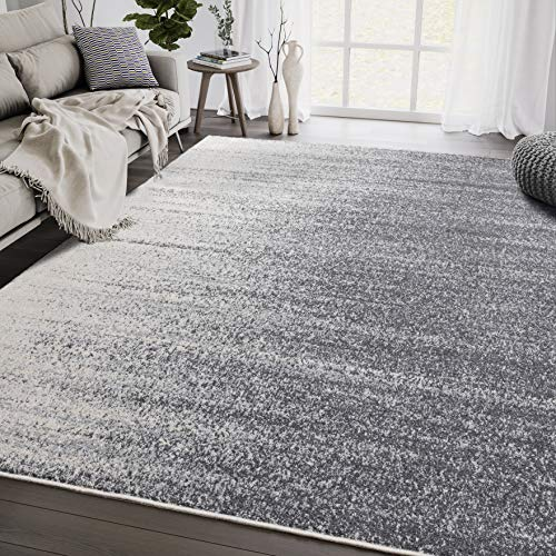 Grey & Beige Speckled Starscape Ombre Pattern 7'9'...
