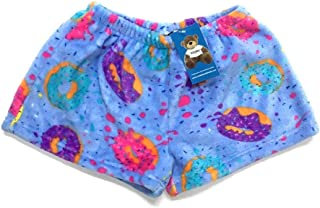 Confetti and Friends Fuzzy Plush Pajama Shorts