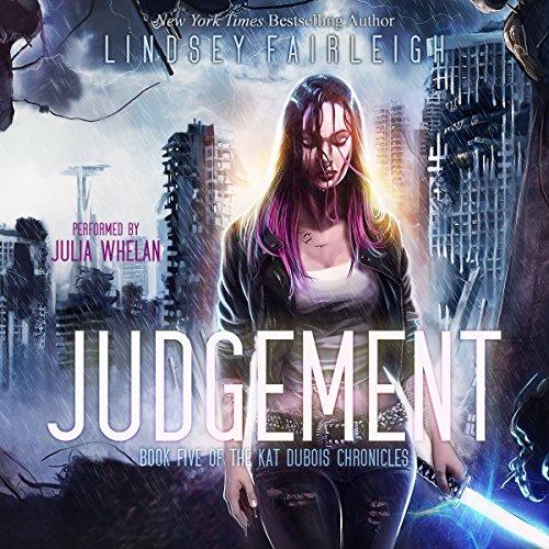 Judgement audiobook cover art