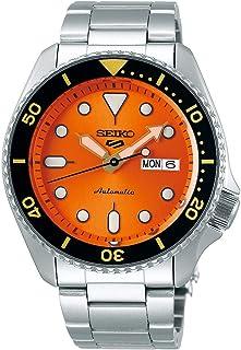 Seiko 5 FACELIFT, 10 Bar water resistant, Calendar, Orange dial Men's watch SRPD59K1