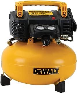 Dewalt DWFP55126R 0.9 HP 6 Gallon Oil-Free Pancake Air Compressor (Renewed)