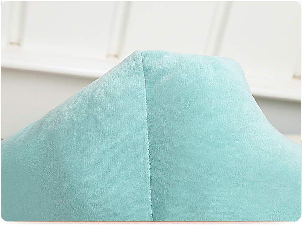 YUMUO Bleu rectangulaire rectangulaire nid Animal Four Seasons Universel Petite et Moyenne litière pour Chat Velours Chat Chaud Villa (Couleur: nid d'os Mat, Taille: M) 8